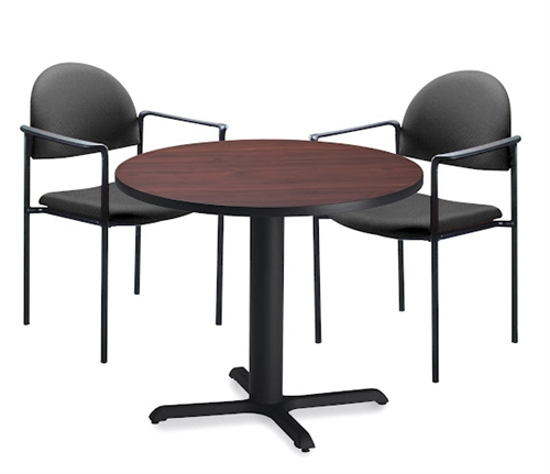 """Mayline 36"""" Round Dining Height Bistro Table CA36RLB"""