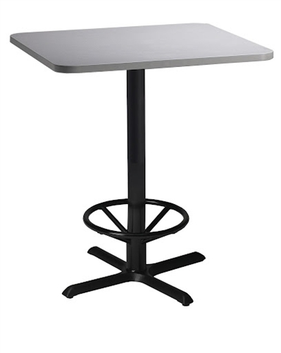 "Mayline 36"" Square Bar Height Bistro Table CA36SHB"