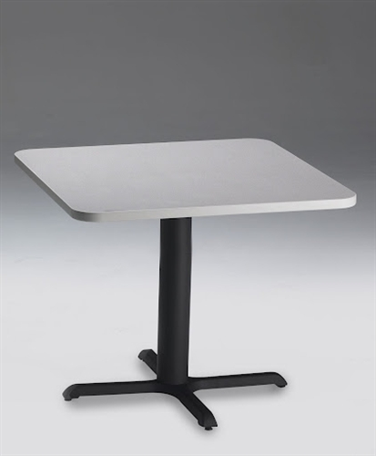 """Mayline 36"""" Square Dining Height Bistro Table CA36SLB"""