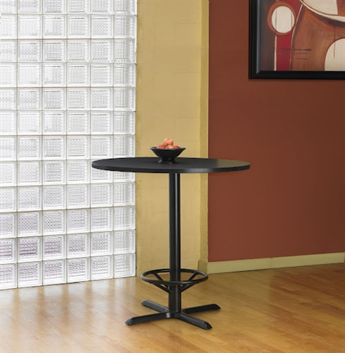 "Mayline 42"" Round Bar Height Bistro Table CA42RHB"