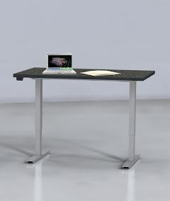 "Mayline 60"" x 24"" ML Series 2 Stage Height Adjustable Table 5222460H (Multiple Finish Options!)"