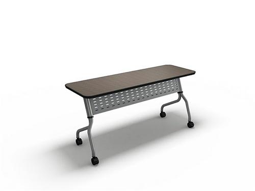 "Mayline 66"" x 18"" Sync Flip Top Training Room Nesting Table SY1866"