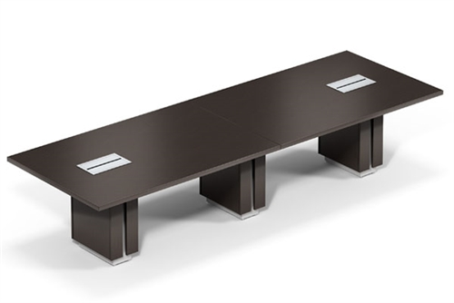 Global Zira 12' Rectangular Conference Table (Available With Power!)