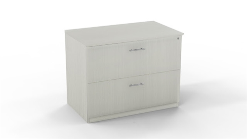 Medina Series Sea Salt Finished 2 Drawer Locking Lateral File Cabinet by Mayline