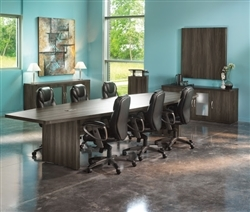 Mayline Aberdeen 10' Conference Table ACTB10 (4 Finishes Available!)