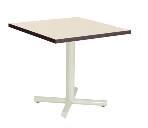 "Berco Sense Series 24"" Square Top Office Table"