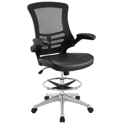 Modway Attainment Ergonomic Drafting Stool EEI-1422 (2 Colors Options)