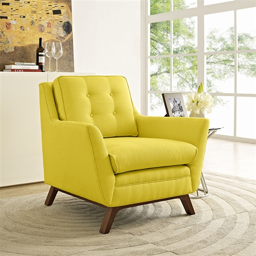 Modway Beguile Upholstered Fabric Armchair EEI-1798 (6 Color Options!)