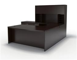 mocha aberdeen desk