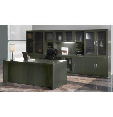 Mayline Aberdeen Executive Furniture Package AT35 (4 Finishes!)