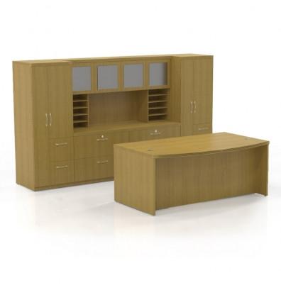 at9 aberdeen desk set in maple