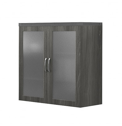 Mayline Aberdeen Series Glass Display Cabinet