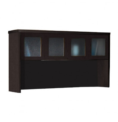 Mayline Aberdeen Series Hutch With Glass Doors