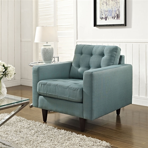 modway empress tufted lounge chair