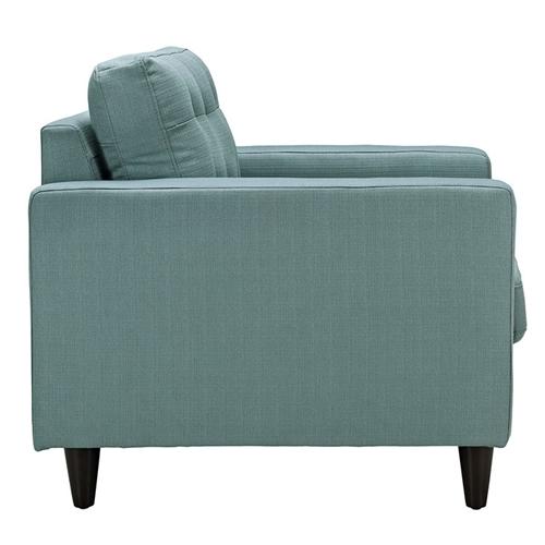 mid century modern fabric lounge chair