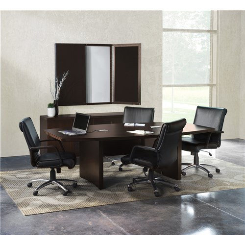 aberdeen 8' mocha conference table