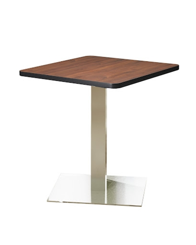 "Mayline CA36SLS 36"" Stainless Steel Bistro Table"