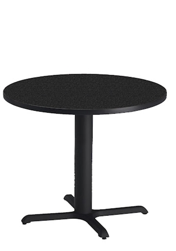 "Mayline CA42RLB 42"" Round Dining Height Bistro Table"