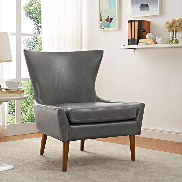 keen gray lounge chair