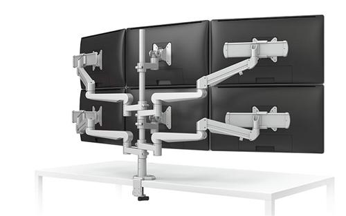 ESI Evolve 6 Screen Monitor Arm EVOLVE6-FMS