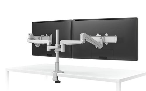 ESI Evolve Adjustable Dual Monitor Arm EVOLVE2-FMS