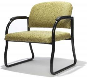 RFM Preferred Seating Evergreen Big an Tall Guest Chair 604A