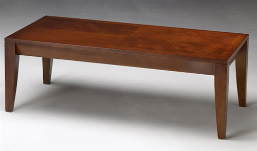 Mayline Diamond Series M104C Cherry Veneer Coffee Table