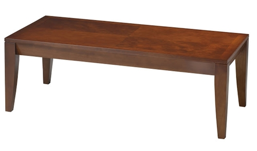 Cherry Coffee Table.Mayline Diamond Series M104c Cherry Veneer Coffee Table