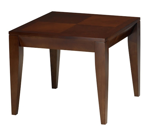 Mayline Diamond Series M104S Cherry End Table