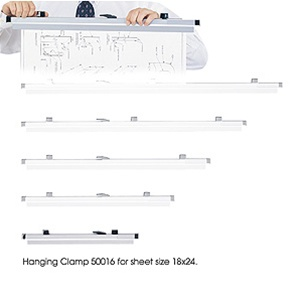 """Safco 18"""" Hanging Clamp 50016 (6 Pack)"""
