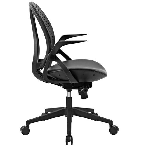 Modway Stellar Vinyl Seat Office Chair EEI-2653-BLK