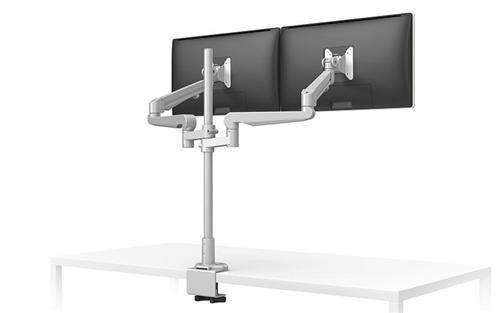 ESI EVOLVE228-FM Pole Style Dual Monitor Arm