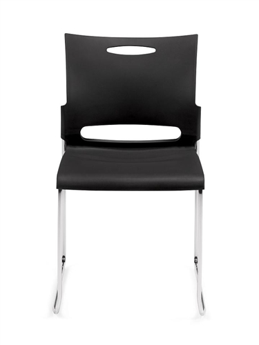 11310b offices to go stack chair - front view