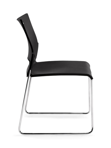 Offices To Go 11310B Armless Stacking Chair