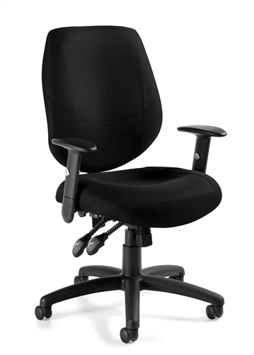 Offices To Go 11631B Adjustable Ergonomic Chair