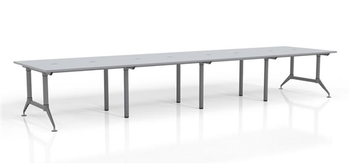 Mayline Even Series 16' Multi User Collaboration Table LD19 (2 Finish Options!)
