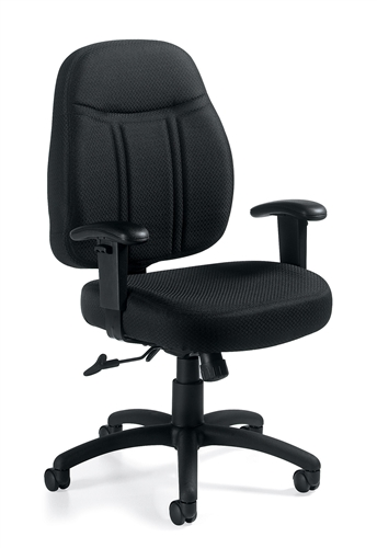 Offices To Go 11651 Mid Back Tilter Chair with Arms
