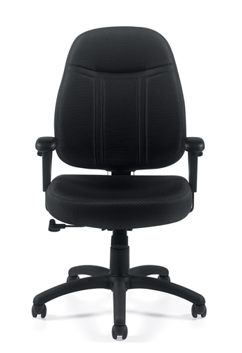 offices to go ergonomic task chair front view
