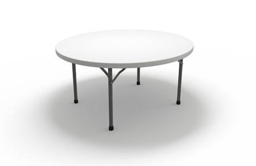 """Mayline Event Series 72"""" Round Folding Table 770072"""