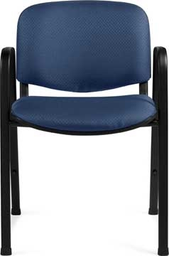 Offices To Go 11703 Stackable Upholstered Guest Chair