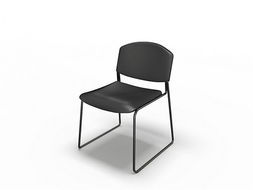 Mayline Event Series Stack Chair 2300SC (4 Pack!)