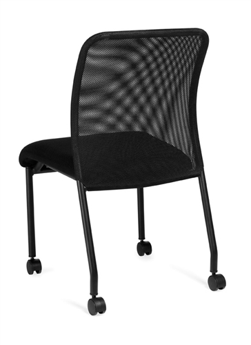 Offices To Go 11761B Mobile Mesh Guest Chair