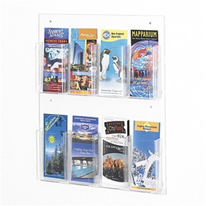 Safco Clear2C Pamphlet Display 5673CL