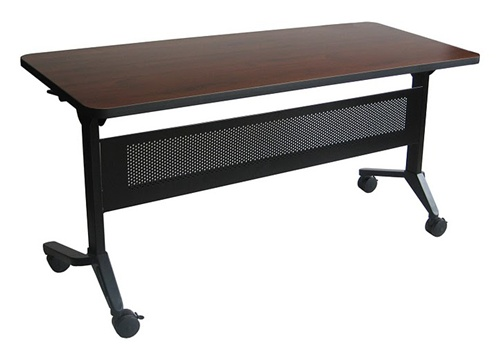 Mayline Flip-N-Go Series 5' Training Table That Nests LF1860