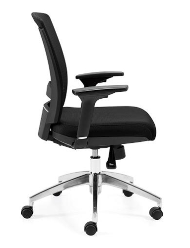 Offices To Go Black Mesh Executive Chair 10904B