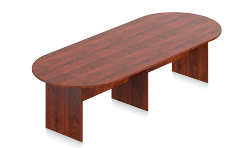 Offices To Go Dark Cherry Superior Laminate Boardroom Table