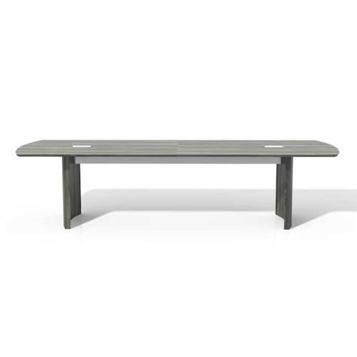 medina gray steel conference room table