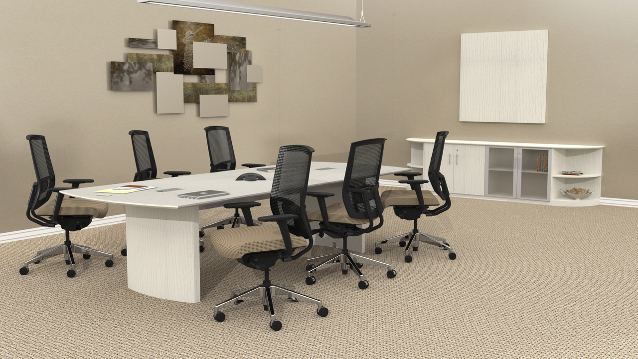 Picture of: Mayline Medina 10 Ft Conference Table Mnc10