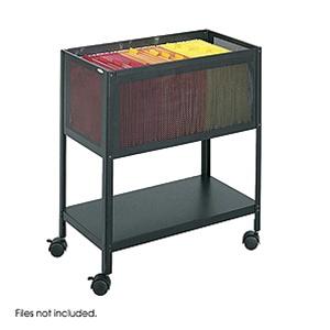 Safco Mesh Tub File Cart 5350BL
