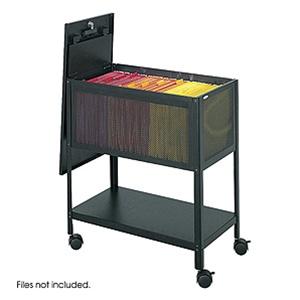 Safco Mesh Tub File Cart 5351BL